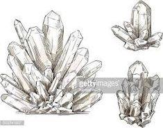 Image result for crystal drawing sketch