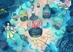 Taupe Syuka ( Sakura or Shuka or朱华 ) ... is an illustrator of dreams.