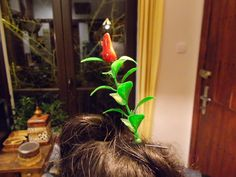 Sprouting Flower Hair Pin