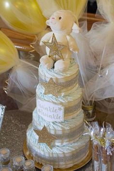Twinkle Little Star Baby Shower Party Ideas | Photo 2 of 21