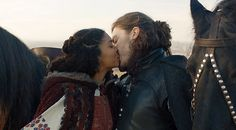 Athos and Sylvie. The Musketeers
