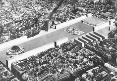 A. Monestiroli - Les Halles Competition Proposal, 1979