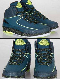 Air Jordan 2 'NIGHT SHADE' Sneakers.                                                                                  Ⓙ_⍣∙₩ѧŁҝ!₦ǥ∙⍣