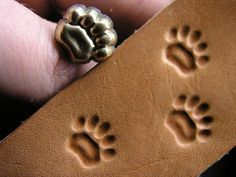 Cute leather stamps