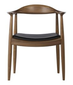 The Kennedy Chair  Notes:- Solid wood with leather or fabric seat. Beech, Ash, American Maple, White Oak and American Walnut. Fabric or Leather. Base model price: RM $1,199.00