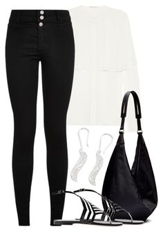 """""""Galway"""" by mad-one ❤ liked on Polyvore featuring NOVICA, Yves Saint Laurent, The Row and Pierre Hardy"""