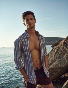 Summer in Ibiza: Garrett Neff for Código Único - The Fashionisto