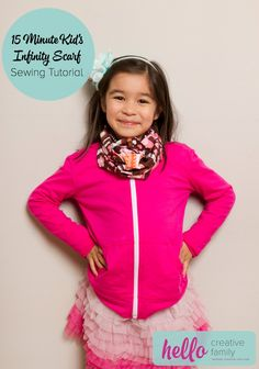 Ideas sewing for beginners kids infinity scarfs for 2019 Ideas . Ideas sewing for beginners kids infinity scarfs for 2019 Ideas sewing for beginner Sewing For Beginners Diy, Beginner Sewing Patterns, Sewing Patterns For Kids, Sewing Projects For Beginners, Sewing For Kids, Free Sewing, Sewing Tutorials, Clothing Patterns, Pattern Sewing
