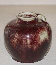 Dalpayrat, apple pitcher, H8cm, circa 1900