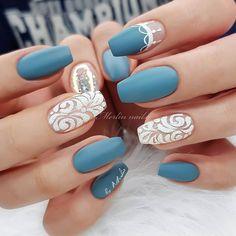 "Merlin nails online courses⚡ on Instagram: ""PETROL Colour Gel @jet_set_beauty_nails FRENCH WHITE Colour Gel + BOJANA Sugar Aurora Holo Flakes-RAINBOW- LUXURY SEALER -Mat…"" Metallic Nails, Glitter Nails, Natural Gel Nails, Diy Manicure, Nail Pro, Stylish Nails, Nails Magazine, French Nails, Nails On Fleek"
