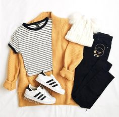 cute outfits for school / cute outfits ; cute outfits for school ; cute outfits with leggings ; cute outfits for women ; cute outfits for school for highschool ; cute outfits for spring ; cute outfits for winter Cute Teen Outfits, Teenage Girl Outfits, Cute Comfy Outfits, Teen Fashion Outfits, Teenager Outfits, Mode Outfits, Stylish Outfits, Fashion Fall, Style Fashion