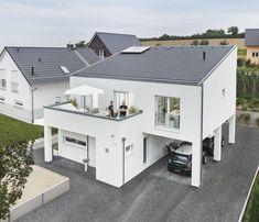 Modernes Haus Mit Pultdach   WeberHaus ➤ Fertighaus Mit Pultdach ✓ Bilder ✓  Grundrisse ✓ Preise Jetzt Ansehen Auf HausbauDirekt.de