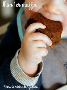 Recette végane pour bébé : mon 1er muffin