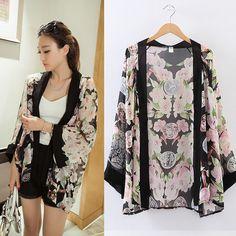 Cheap 2014 blusas de la rebeca de la nueva mujer de la moda impresos    casual 2c8bea2820a8