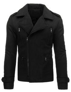 Płaszcz męski zimowy czarny (cx0330) - sklep online Dstreet.pl