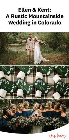 A Rustic Mountainside Wedding at a Private Residence in Heeney, Colorado Pediatric Registered Nurse, Denver Restaurants, Camping Theme, Wedding Trends, Newlyweds, Real Weddings, Colorado, Rustic, Country Primitive