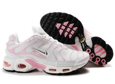 0f025ceddf89 Discover the Womens Nike Air Max TN White Pink Authentic collection at  Pumacreeper. Shop Womens Nike Air Max TN White Pink Authentic black