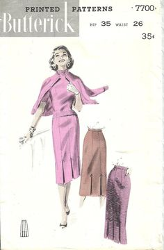 Butterick 7700 / Vintage 50s Sewing Pattern / by studioGpatterns