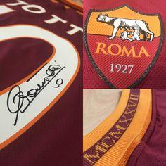 5834dfa86 Francesco Totti Signed AS Roma 2013-14 Home Shirt