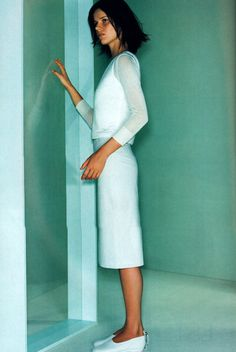 Calvin Klein, Elle magazine, March 1999.