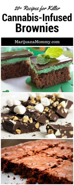 20+ Killer Pot Brownie Recipes To Lift Your Spirits Pot Brownies are great, but if you're a medical marijuana patients, the same #weed brownies get boring. Try one of these varieties. 20+ Cannabis Brownie Recipes https://www.marijuanamommy.com/pot-brownie-recipes-cannabis-brownies/
