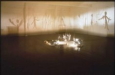 christian boltanski shadows Shadow Art, Shadow Play, Contemporary Theatre, Contemporary Artists, Shadow Theater, Childhood Fears, Puppet Theatre, Sweeney Todd, Shadow Puppets