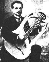 L.Mozzani LUIGI MOZZANI (1869-1943) soloist, composer and guitarmaker from Faenza