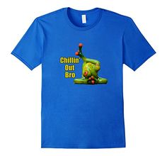 Amazon.com: Funny Frog T-Shirt - Chillin' Out Bro: Clothing