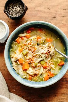 Recipe: Chicken Soup with Fennel and Farro