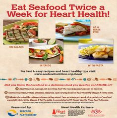 Eat Seafood Twice a Week for Heart Health | Seafood Nutrition Partnership