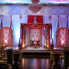 Jali Mandap Big Fat Indian Wedding, South Asian Wedding, Indian Wedding Decorations, Indian Weddings, Tamil Wedding, Valance Curtains, Toronto, Home Decor, Decoration Home