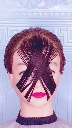 Love Hair, Great Hair, Gorgeous Hair, Medium Hair Styles, Curly Hair Styles, Natural Hair Styles, Bun Hairstyles For Long Hair, Diy Hairstyles, Hair Cutting Techniques