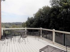How to & Repairs:Glass Railing Systems For Decks Glass Railing Systems For Decks With Iron