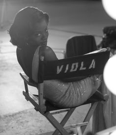 Viola Davis photographed by Dewey Nicks for The Oprah Magazine, June 2009.