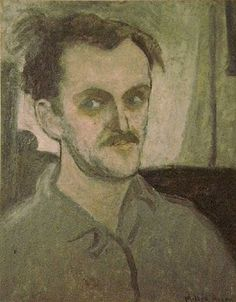Milton Avery (American: 1885–1965) | Untitled (Self Portrait) 1935