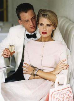Julia Stegner | Vogue US February 2005