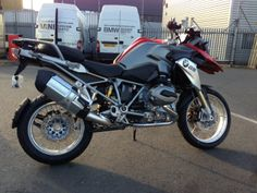 #R1200GS out of the shipping crate