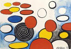 Alexander Calder , Saucers and Spirals Auction, Alexander Calder, Painting, Abstract Artwork, Art, Contemporary Art