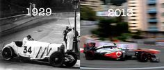 Monaco in 1929 and now...