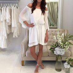 Everyone needs an off the shoulder dress this season! Shop the new @shonajoy2026 'Cumulus' Pleated Dress $280 | RG via @cocoandlola  #shonajoy #lookbookboutique #lookbook #luxe #offshoulder #trending #whitedress #weddinginspo #ootd #ootn #online #outfit #ontrend #igers #inspo #instore #instablog #fashion #fashionpost #alburygoldcup #alburyboutique #model #style #fashion #awfashion #awfashion16 #boho