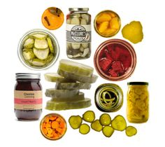 Monthly gourmet tasting boxes - this one all artisanal pickles!