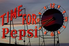 Time for Pepsi by aebphoto, via Flickr  old pepsi plant
