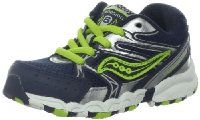 Saucony Boys Baby Cohesion Lace Running Shoe (Toddler)