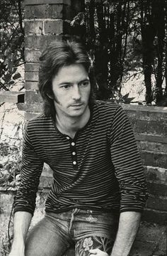 A young Eric Clapton