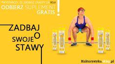 Zadbaj o swoje Stawy!  Odbierz suplement Flexactive 20 tabletek GRATIS!  *Wystarczy, że zrobisz zakupy za 80 zł. Zapraszamy, http://www.kulturystyka.sklep.pl/