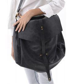 Oversized Black Leather Hobo Bag for Women, Large Handmade Slouchy  Oversized Purse, Gold Hardware, Crossbody, Carryall Handbag c4c4b984f5d1