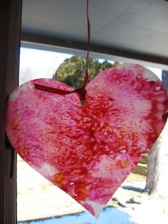 Fun Valentine's Day craft for kids