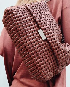 Soft and tactile. The hand-woven #BecksBag gets a new season colour update.  Shop now at #StellaMcCartney.com