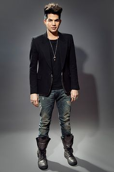 Head To Toe: Adam Lambert Doesn't Compromise Style On A Busy Day