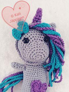 Una the Unicorn pattern by Kati Jäppinen